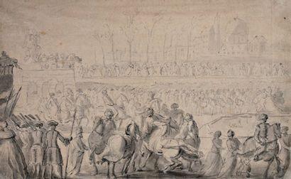 Attribué à Charles PARROCEL (1688-1752)