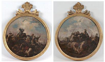 Attribué à Francesco GRAZZIANI (Actif vers 1680 / 1700)