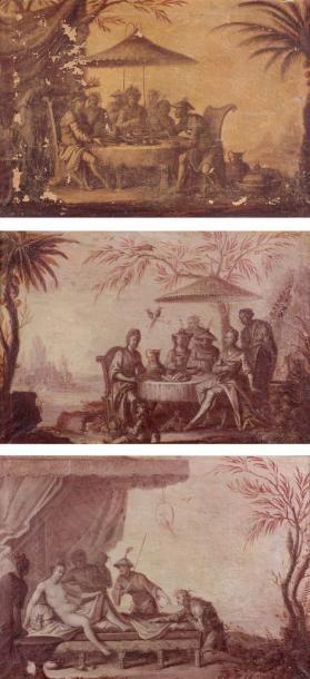 Attribué à Jacques VIGOUROUX-DUPLESSIS (actif en France au XVIIIe siècle)