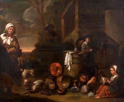 Attribué à Willem STEEN de l'entourage de Le Nain