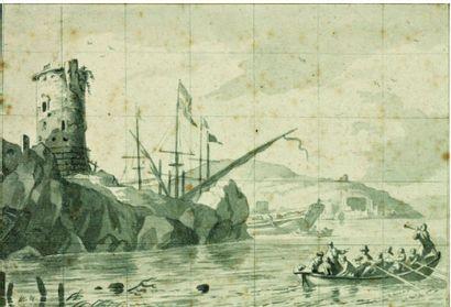 Attribué à Ludolf BAKHUYSEN (1631-1708)
