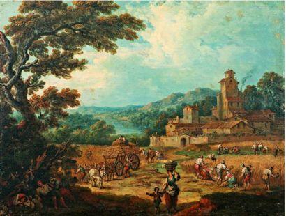 Pierre Salomon DOMENCHIN de CHAVANNE  (1672-1744)