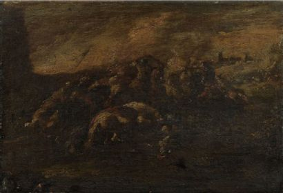 Francesco GRAZIANI, dit Ciccio NAPOLETANO  (actif à Naples entre 1680 et 1700)