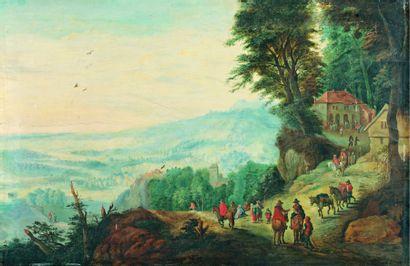 Attribué à Jan BRUEGHEL Le Jeune (1601-1678)