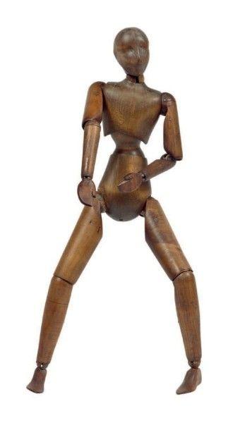 Mannequin d'artiste Modèle homme en érable....
