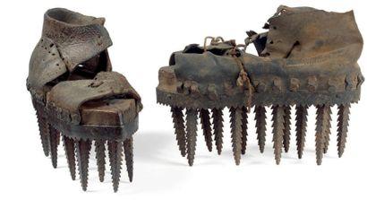Chaussures pour décortiquer les châtaignes...