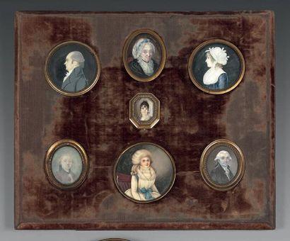 ÉCOLE FRANÇAISE des XVIIIe et XIXe siècles