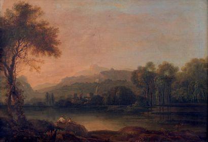 Suiveur de Richard WILSON, vers 1820