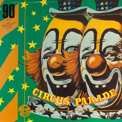CIRQUE: dix disques 30 cm et trois disques...