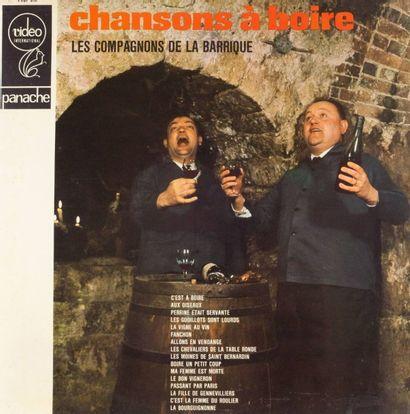 VIN & CHANSON A BOIRE: sept disques 30 cm...