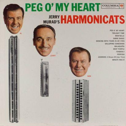 HARMONICA: vingt-quatre disques 30 cm et...