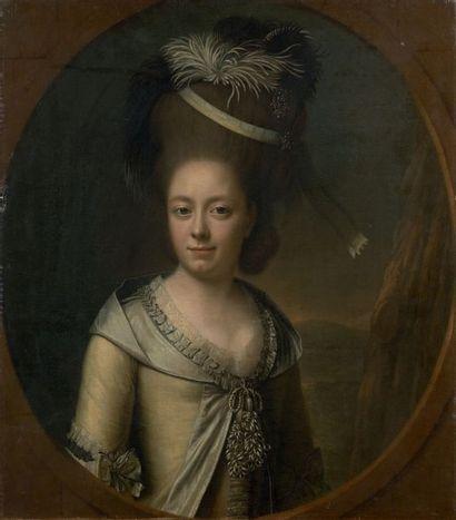 Attribué à Georg Anton Abraham URLAUB (1744-1788)