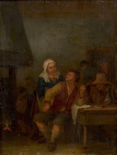 École hollandaise vers 1800, suiveur d'Adrien van OSTADE