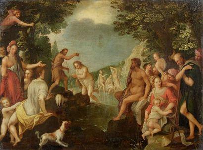 Attribué à Jan van balen (1611-1654)