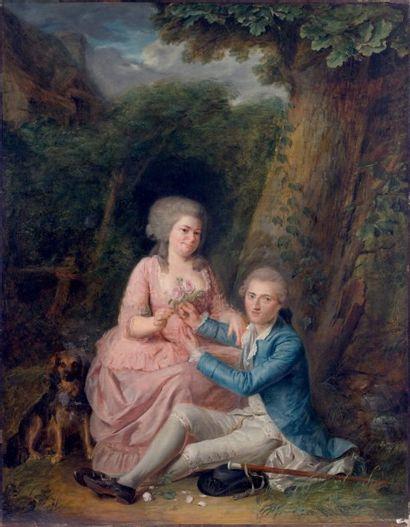 Attribué à Jacques WILBAULT (1729-1816)