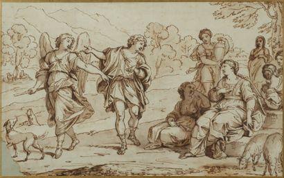 École néoclassique italienne, entourage de CADES Jacob et Rachel