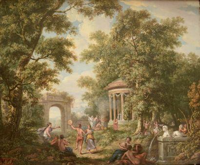 Attribué à Juriaan ANDRIESSEN (1742-1819)