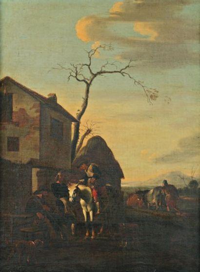 Attribué à Jan MIEL (1599-1663)