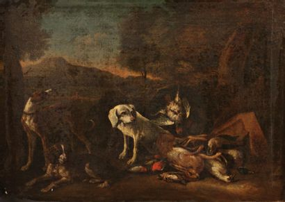 Attribué à Adriaen de GRYEFF (1670-1715)
