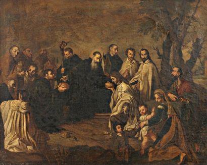 École italienne du XVIIIe siècle, suiveur de Pietro NOVELLI