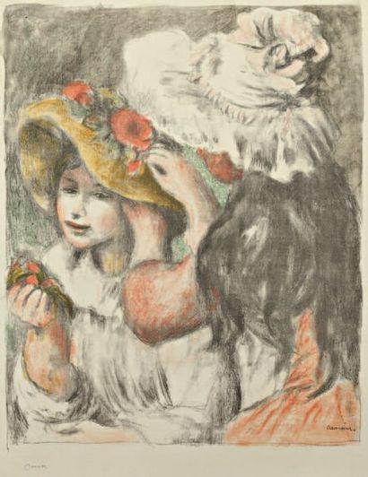 Renoir A. Le Chapeau épinglé, 2ème planche....