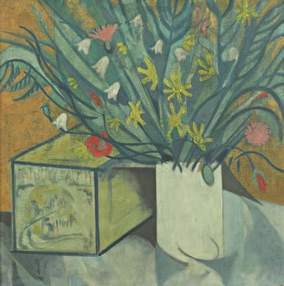 Le Bouquet champêtre. 1914 Huile sur toile....