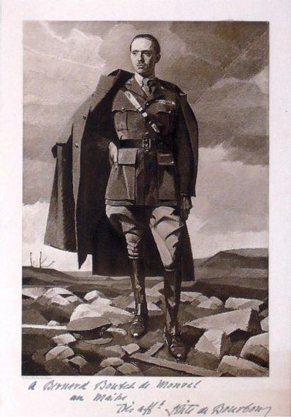 Bernard BOUTET DE MONVEL (1881-1949) S. A. R. Le Prince Sixte de Bourbon-Parme Huile...