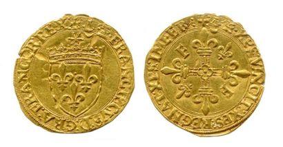 FRANÇOIS Ier (1515-1547) Écu d'or au Soleil...