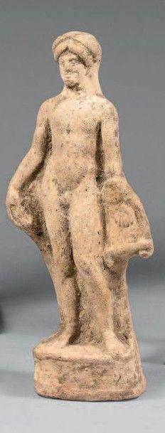 APOLLON nu Terre cuite Art grec, Ve -IVe...