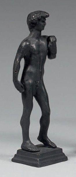 MERCURE Bronze patine sombre Époque romaine...