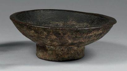 * COUPE sur pied Bronze Haut. 5,5 cm - Diam....