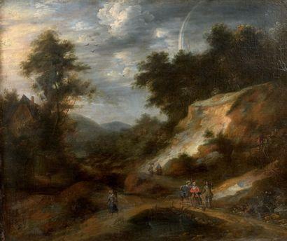 Attribué à Jacques d'ARTHOIS (1613-après 1684)