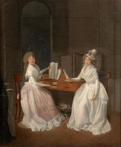 Attribué à Henri-Nicolas VAN GORP (c.1757-après 1819)