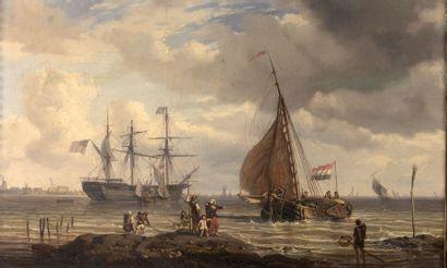 Attribué à Henri Charles STOCK (1826-1885)