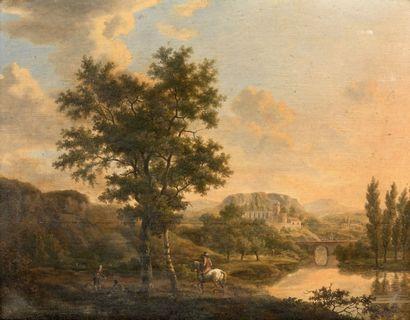 École hollandaise vers 1800, suiveur de Jan HACKERT