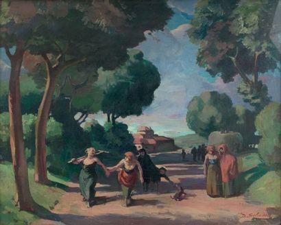 Daniel SCHOËN (1873-1955)