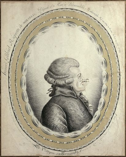 Jean Joseph BERNARD (1740-1809) Portrait...