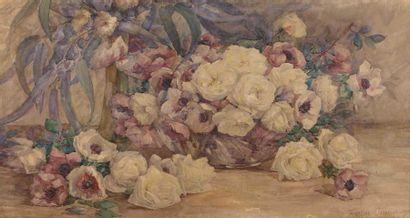 Francine GAUDRION (née en 1885) : Jeté de...