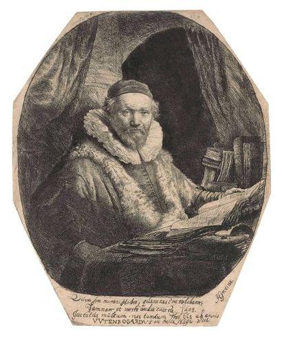 REMBRANDT VAN RIJN (1606-1669) : Portrait...