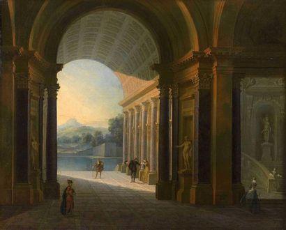 Philippe MEUSNIER (1655-1734) : Élégantes...