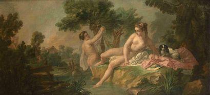 Attribué à Jean-Baptiste HUET (1745-1811)...