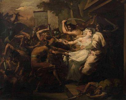 François DUBOIS (Paris, 1790-1871): Agamemnon...
