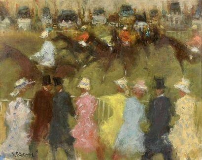 Jacques BARTOLI (1920-1995) : Chantilly....