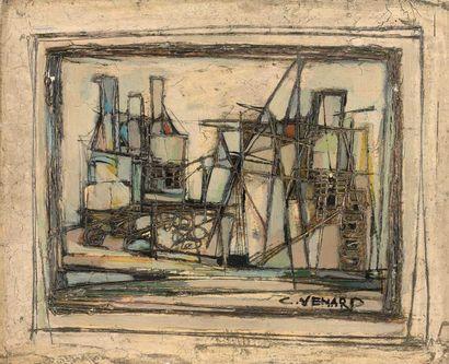Claude VENARD (1913-1999) : Nature morte....