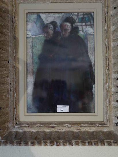 Christian NASS (1888-1931) :  Deux femmes...