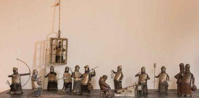 L'armée des ombres comprenant treize soldats...