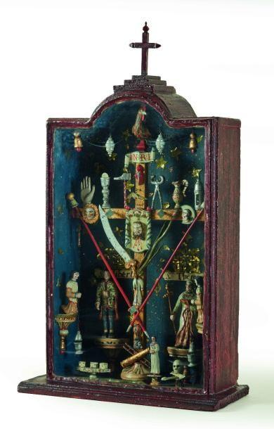 Croix de cabine de marinier du Rhône aux...
