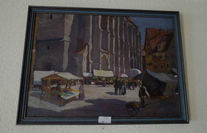 Ecole alsacienne du XXe siècle  Place de...
