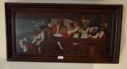 Ecole alsacienne de la fin du XIXe siècle...