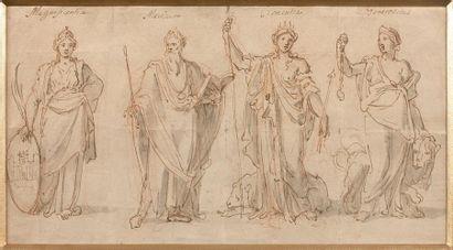 Attribué à Nicolas LOIR (Paris, 1624-1679)...